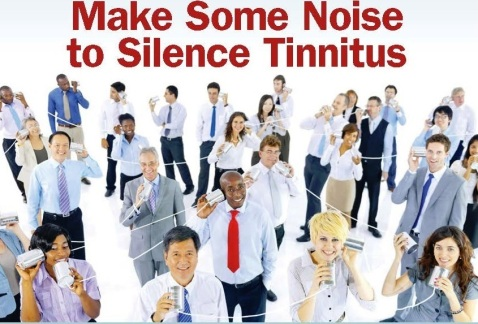 Make Some Noise to Silence Tinnitus