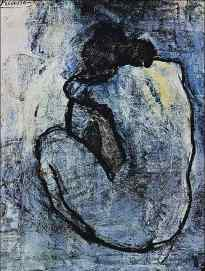 Blue Nude_Picasso_1902